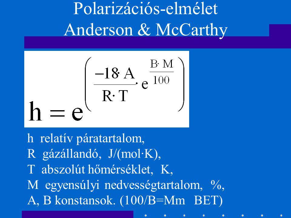 Polarizációs-elmélet Anderson & McCarthy