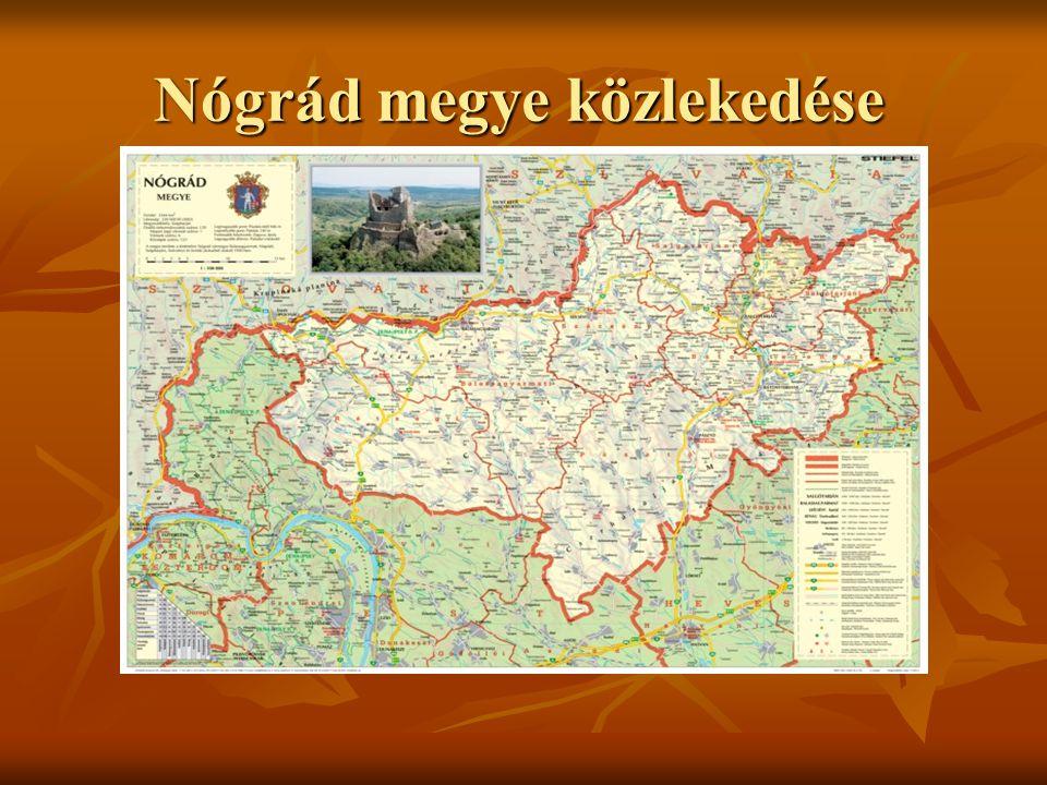 Nógrád megye közlekedése
