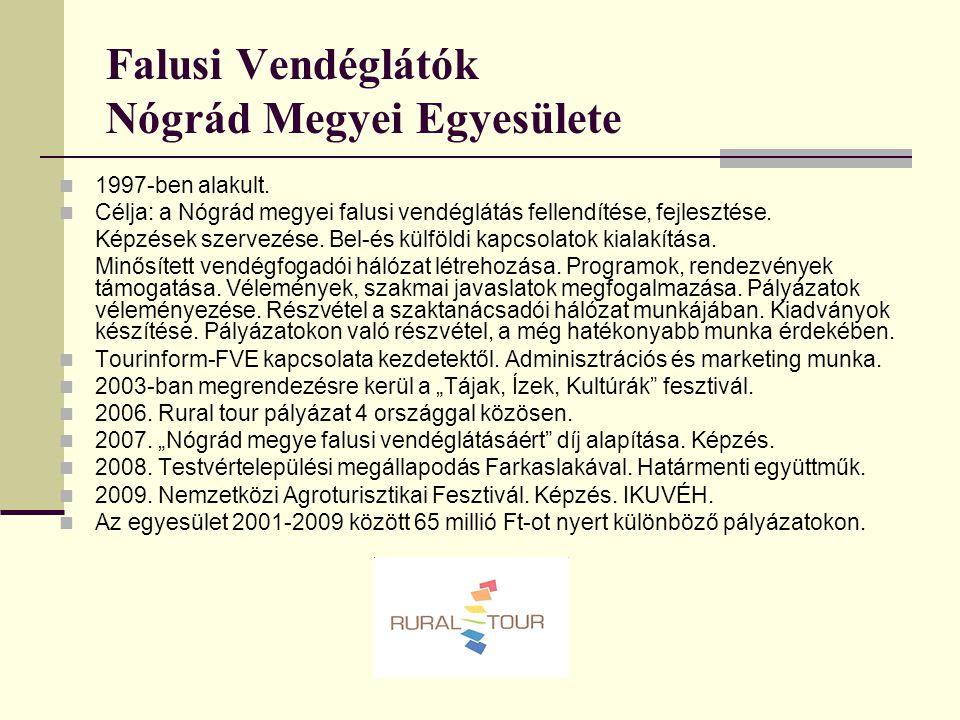 Falusi Vendéglátók Nógrád Megyei Egyesülete