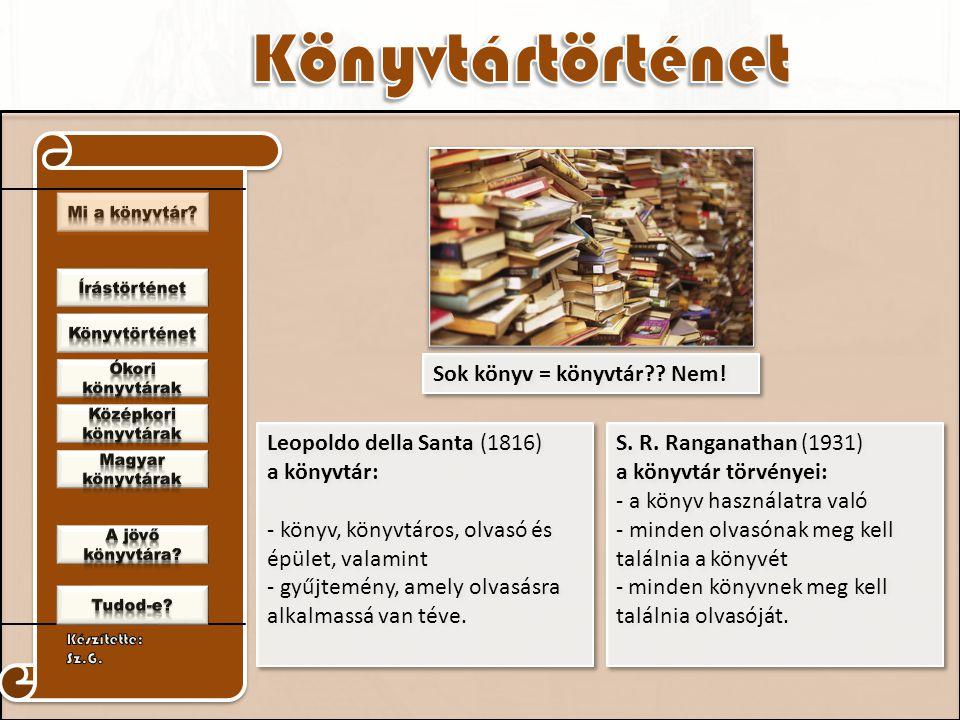 Sok könyv = könyvtár Nem!