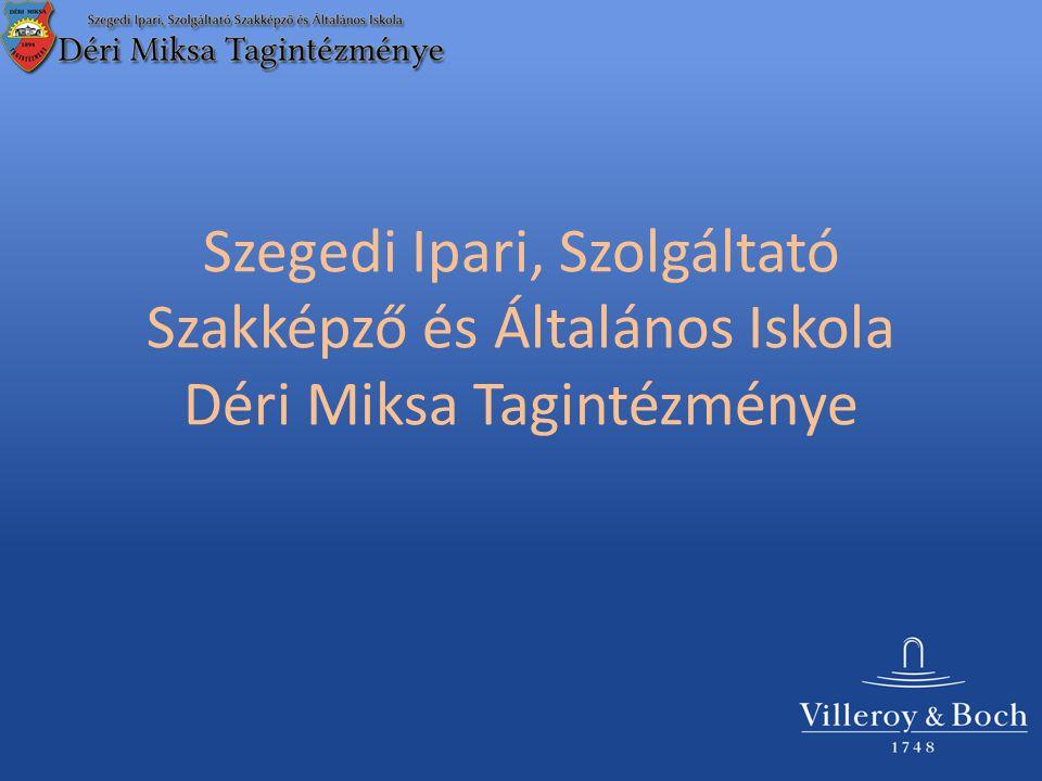 Szegedi Ipari, Szolgáltató Szakképző és Általános Iskola Déri Miksa Tagintézménye