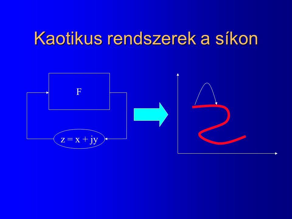 Kaotikus rendszerek a síkon