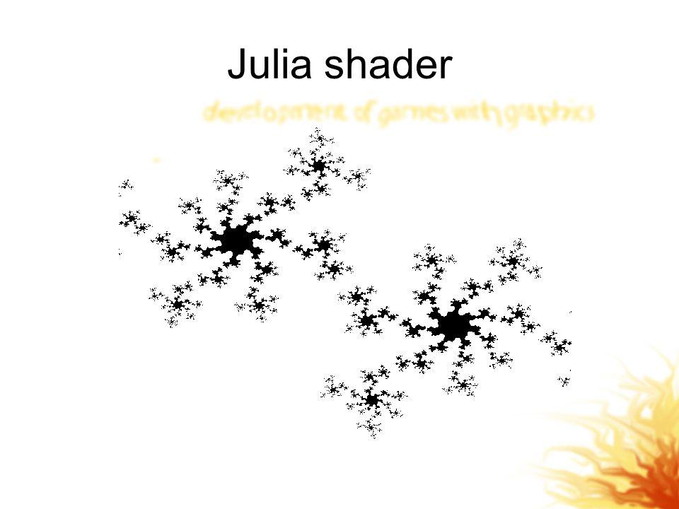 Julia shader