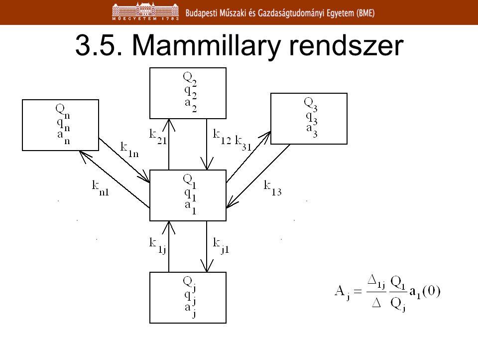 3.5. Mammillary rendszer