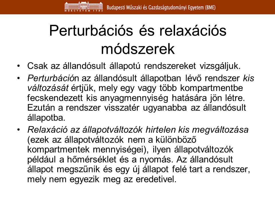 Perturbációs és relaxációs módszerek
