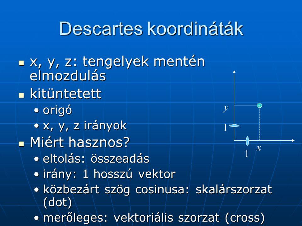 Descartes koordináták