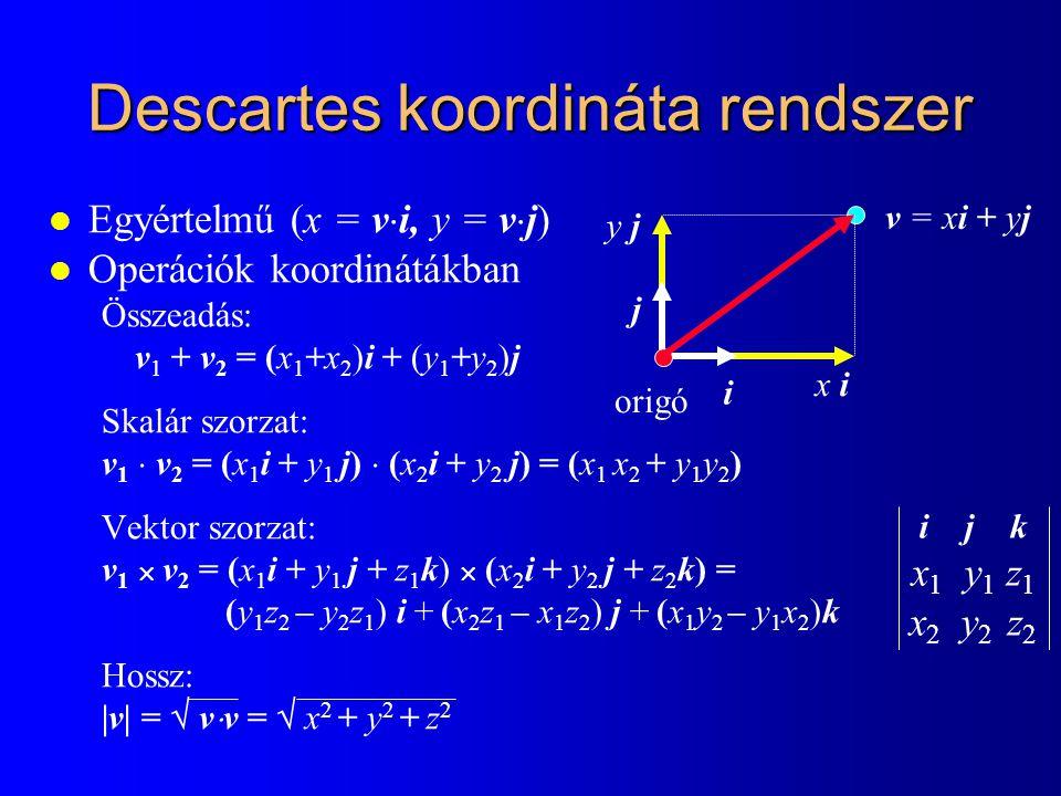 Descartes koordináta rendszer