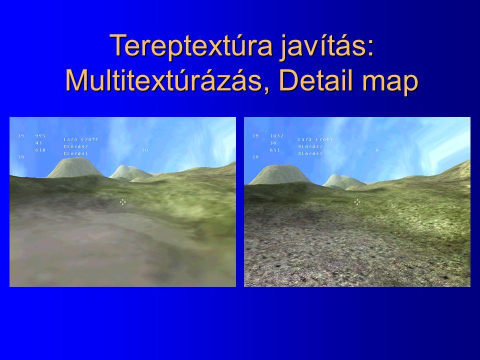 Tereptextúra javítás: Multitextúrázás, Detail map