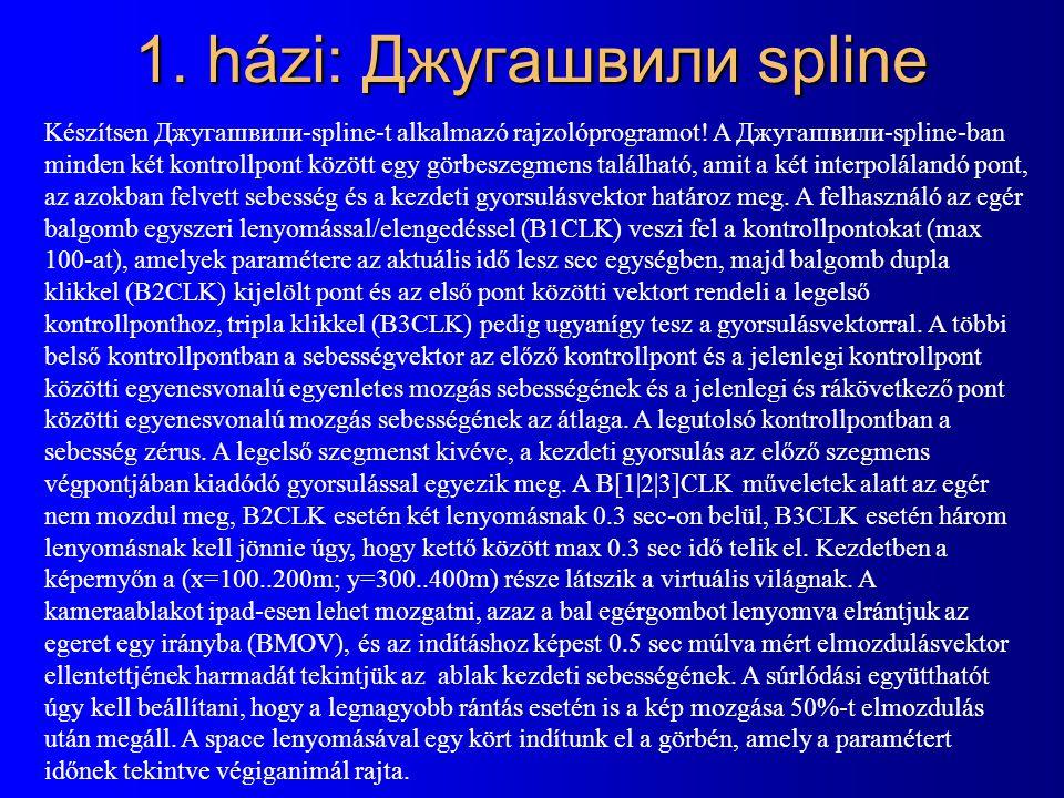 1. házi: Джугашвили spline