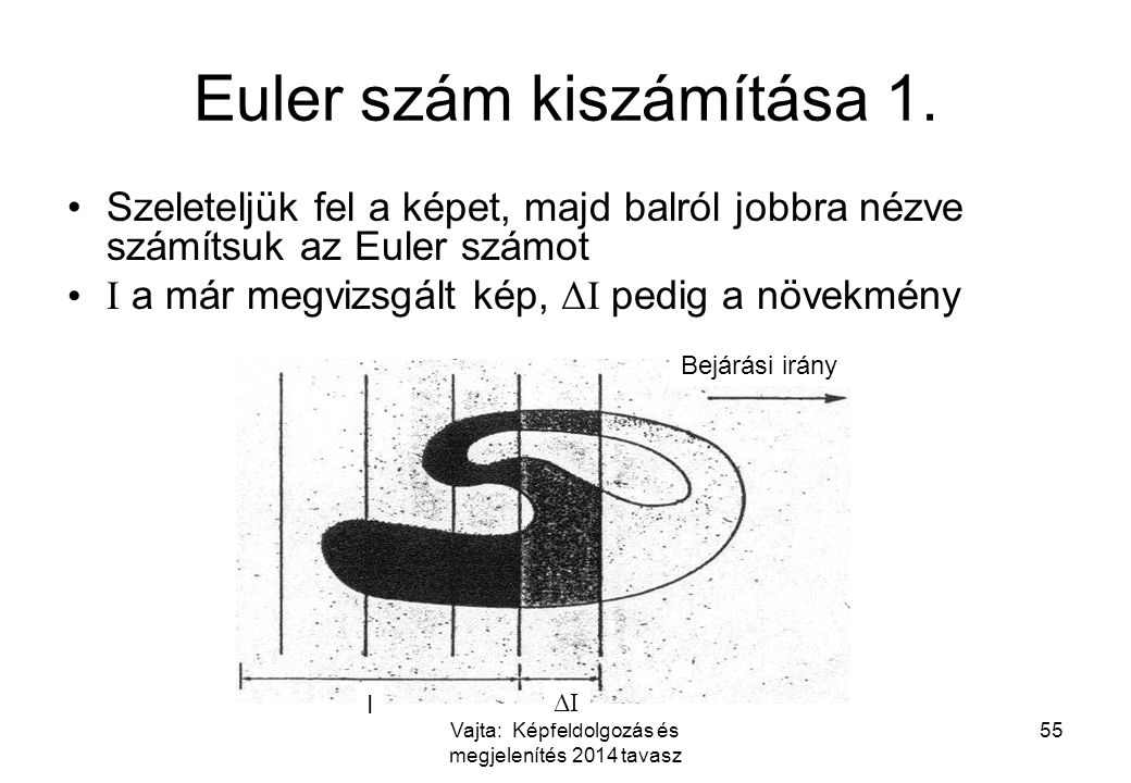 Euler szám kiszámítása 1.