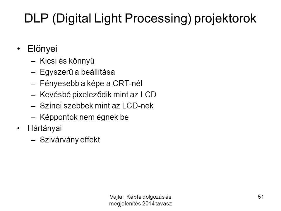 DLP (Digital Light Processing) projektorok