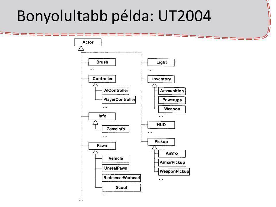 Bonyolultabb példa: UT2004