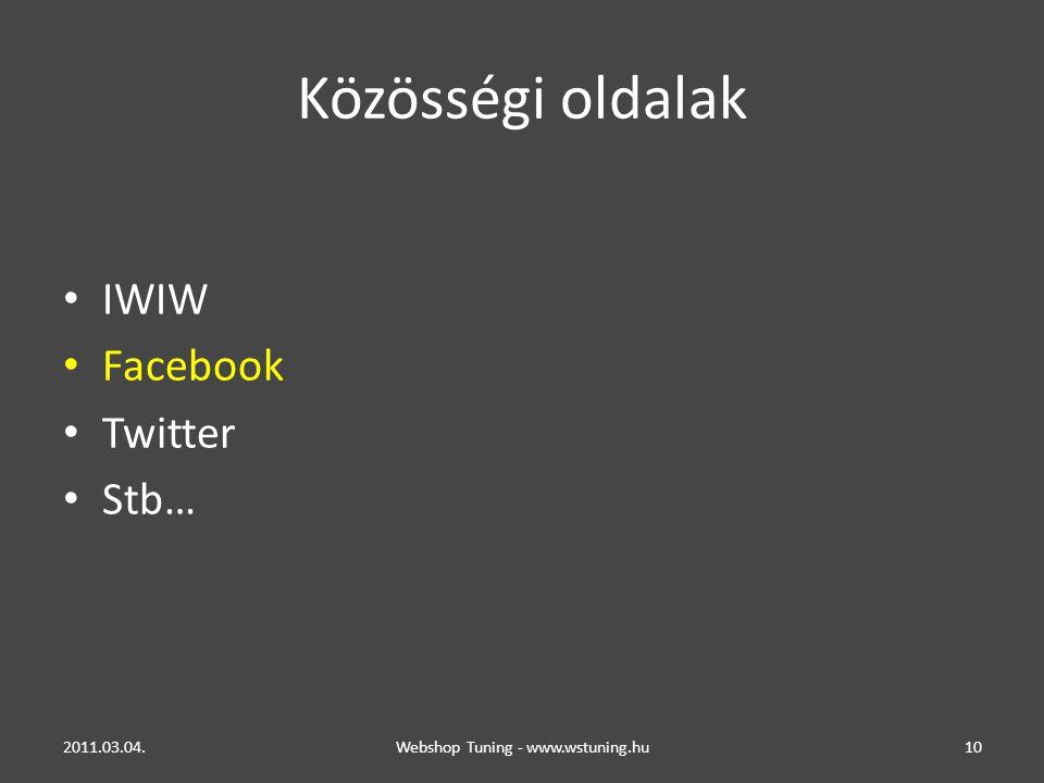 Webshop Tuning - www.wstuning.hu