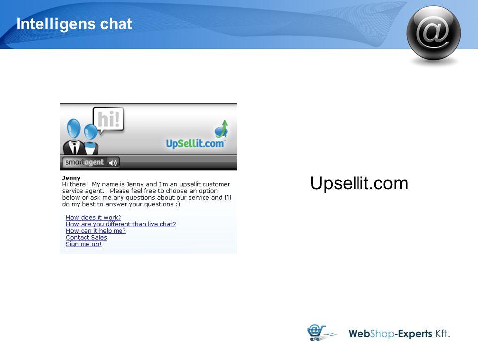 Intelligens chat Upsellit.com 12