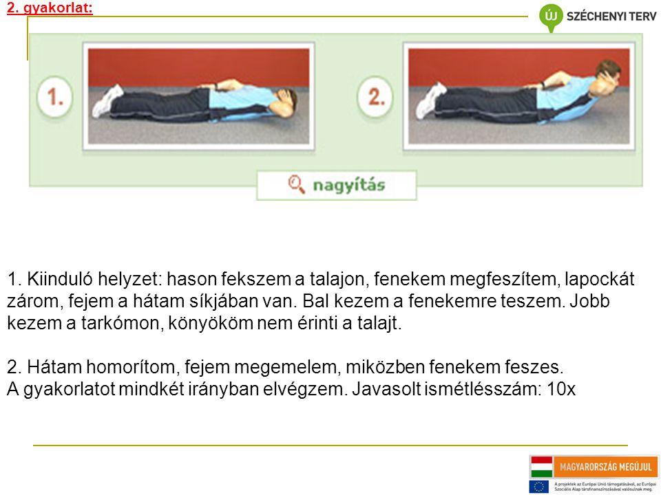 2. gyakorlat: