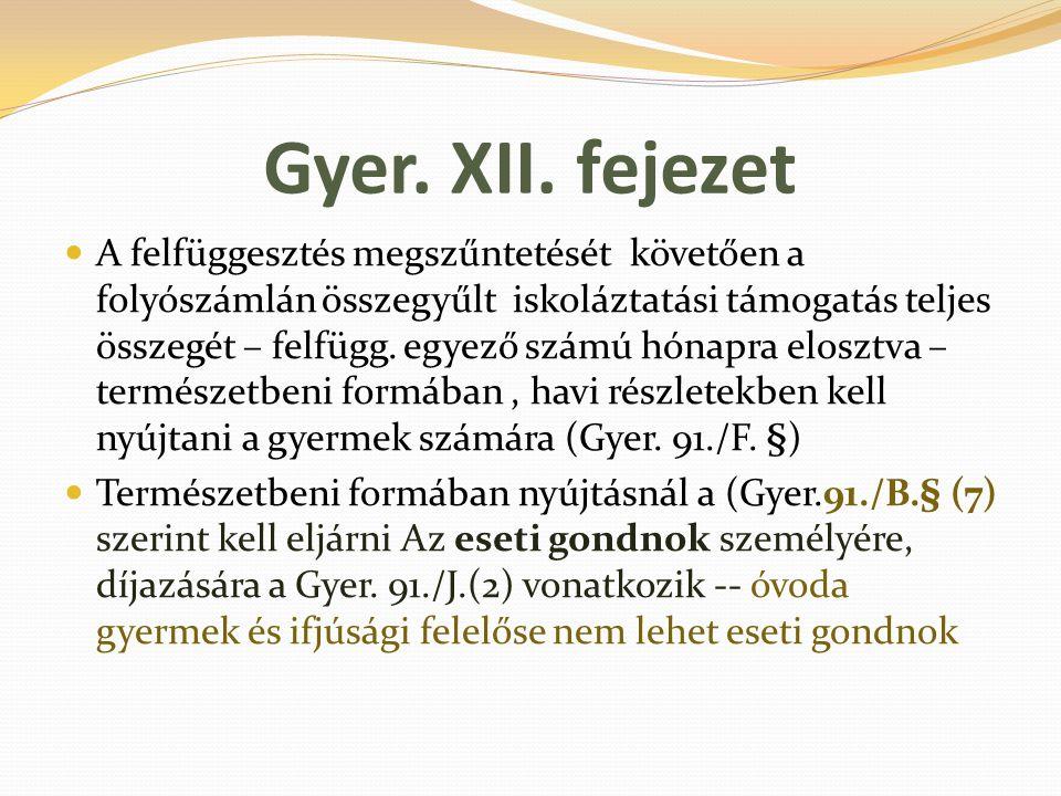 Gyer. XII. fejezet