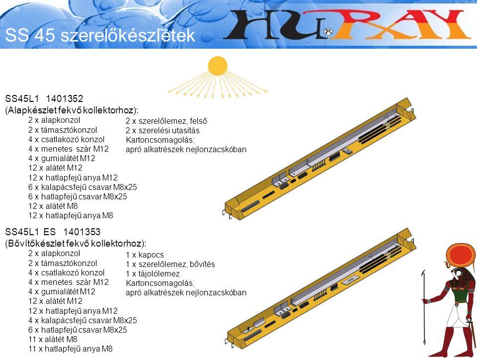 SS 45 szerelőkészletek SS45L1 1401352