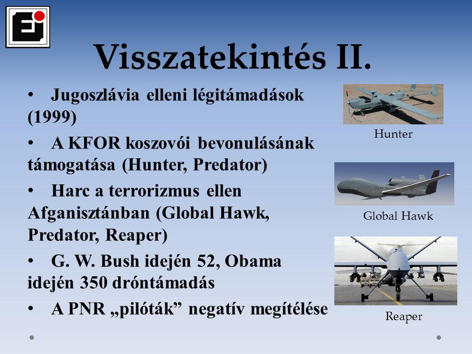 Visszatekintés II. Jugoszlávia elleni légitámadások (1999)