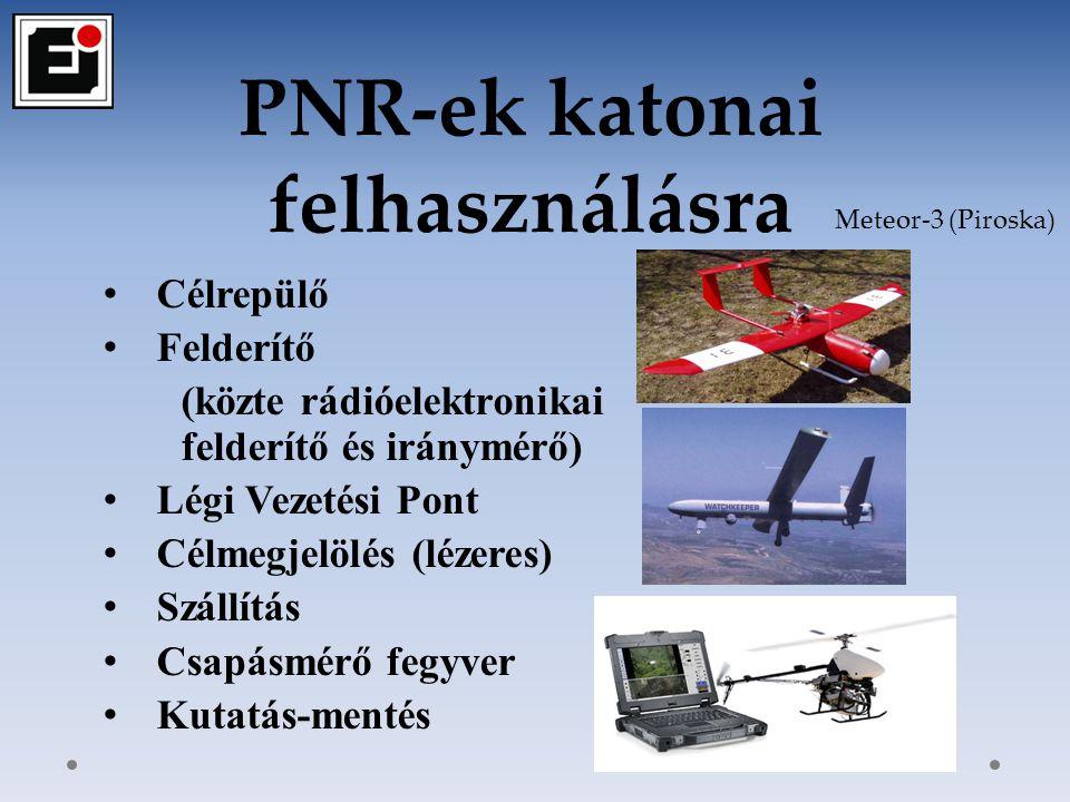 PNR-ek katonai felhasználásra