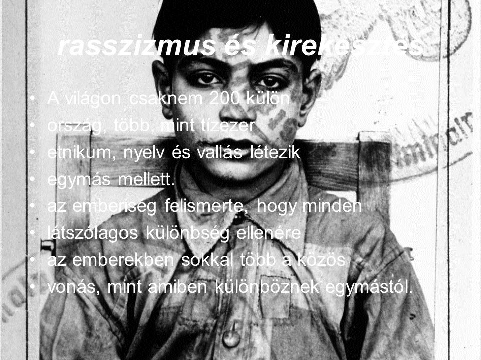 rasszizmus és kirekesztés