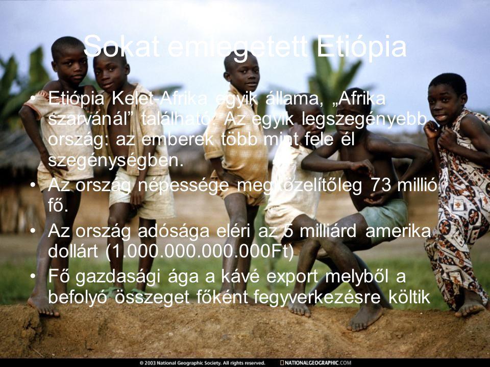 Sokat emlegetett Etiópia