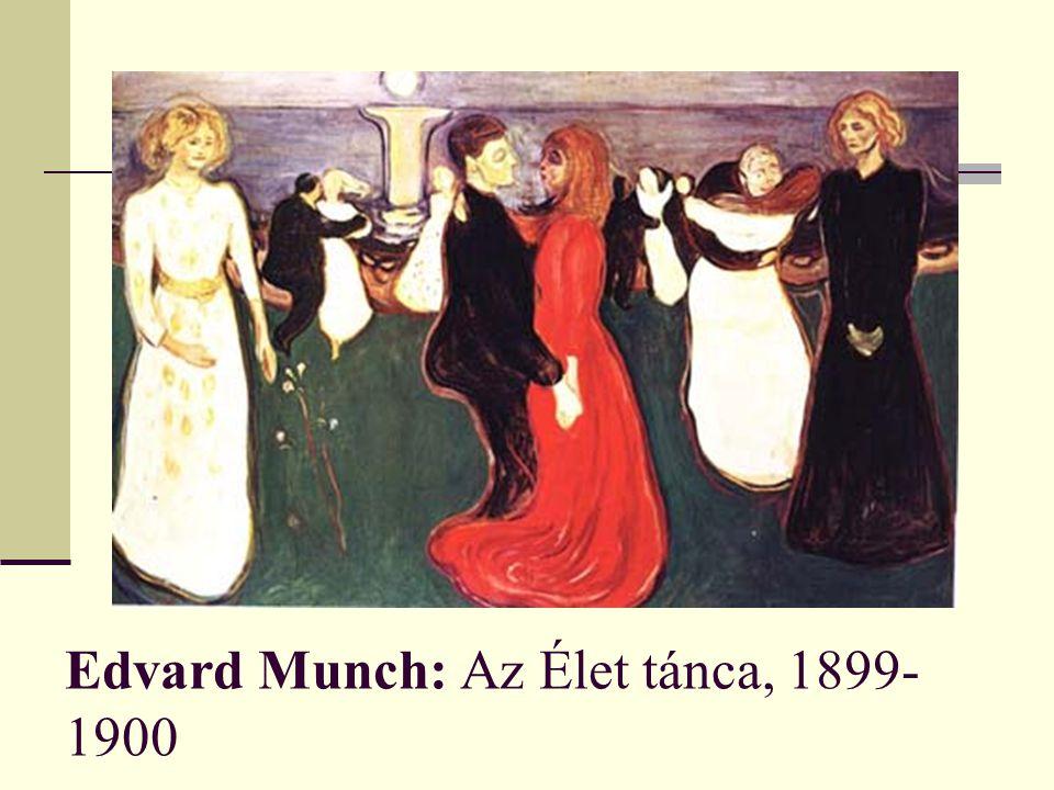 Edvard Munch: Az Élet tánca, 1899-1900