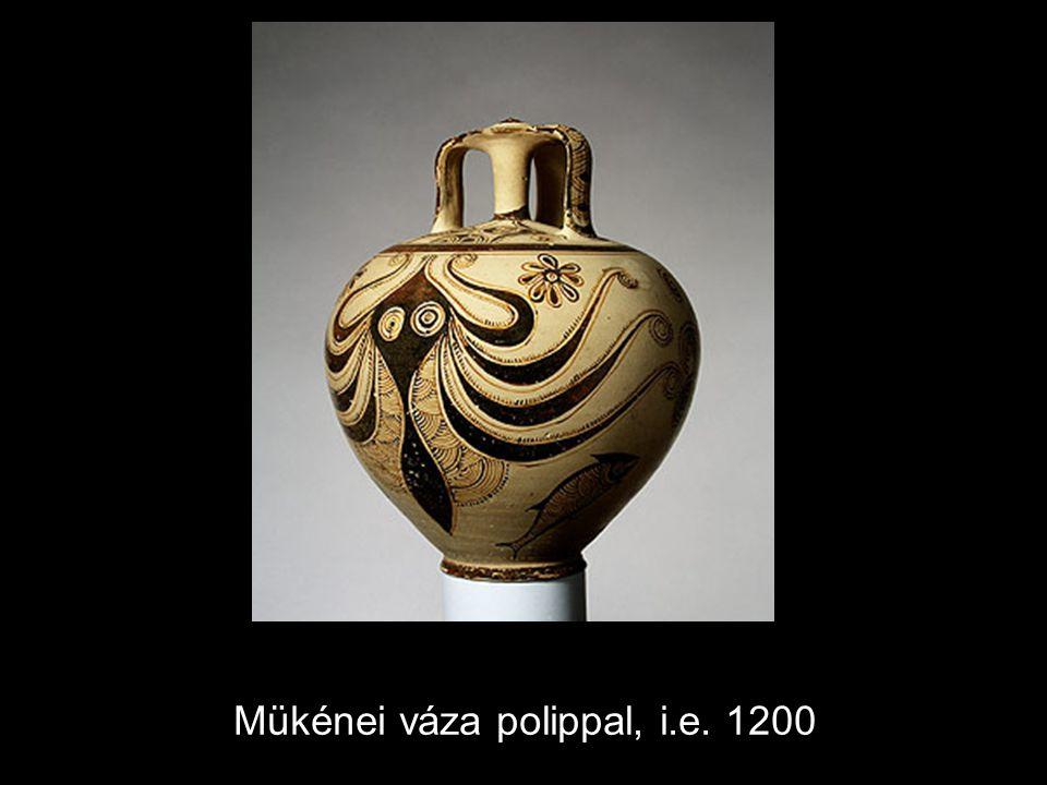 Mükénei váza polippal, i.e. 1200