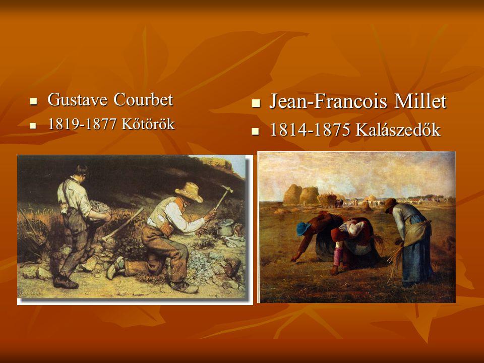 Jean-Francois Millet Gustave Courbet 1814-1875 Kalászedők