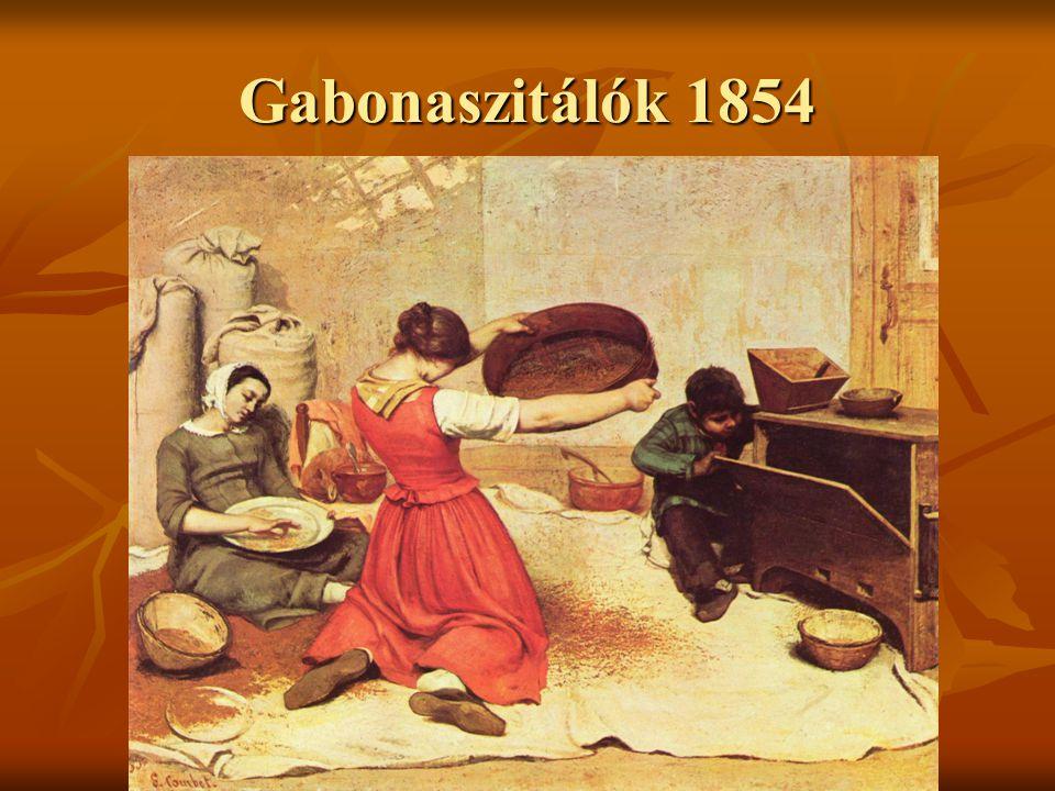 Gabonaszitálók 1854