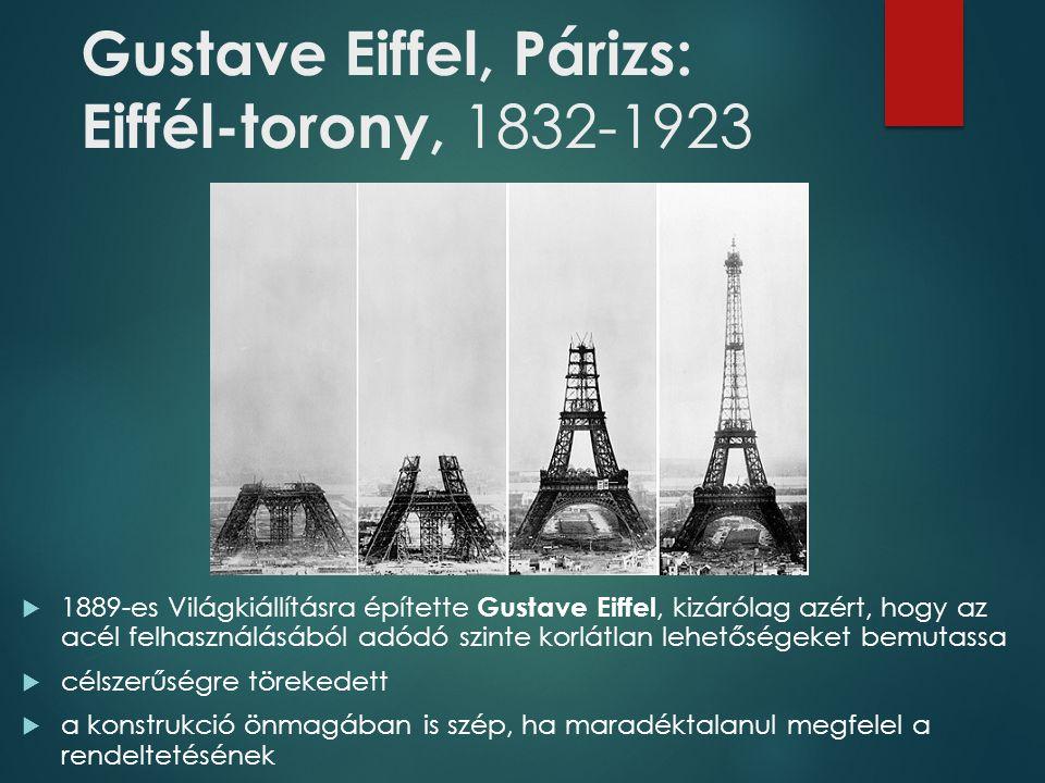 Gustave Eiffel, Párizs: Eiffél-torony, 1832-1923