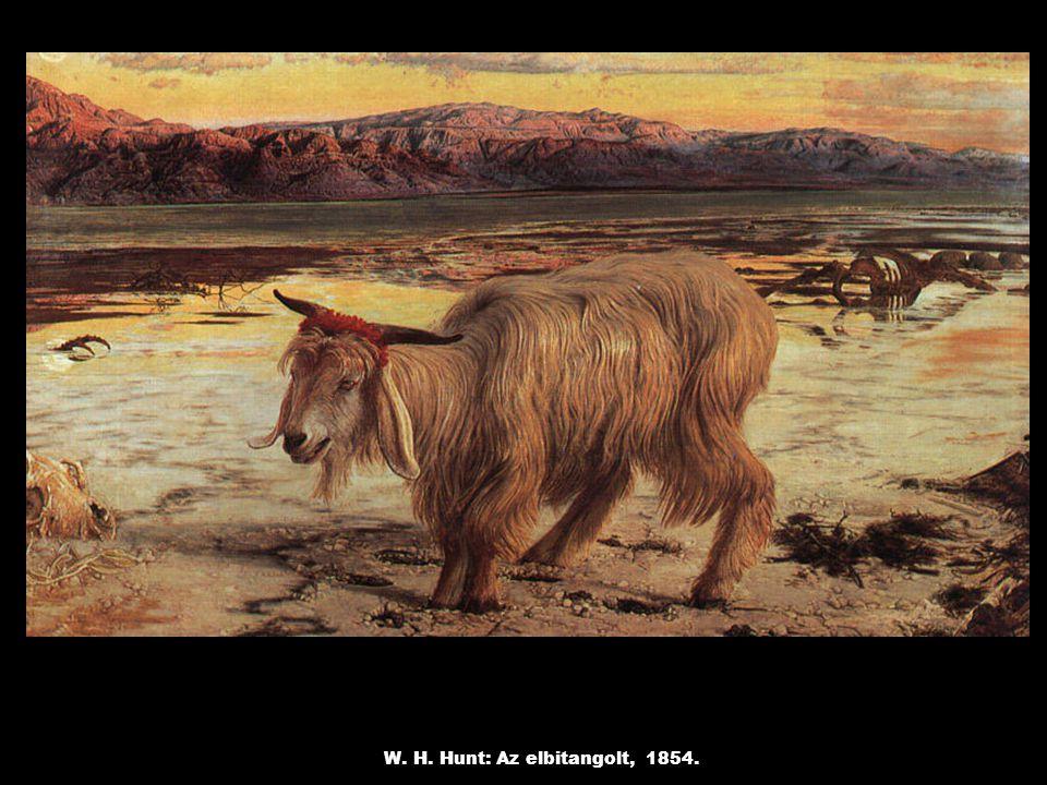 W. H. Hunt: Az elbitangolt, 1854.