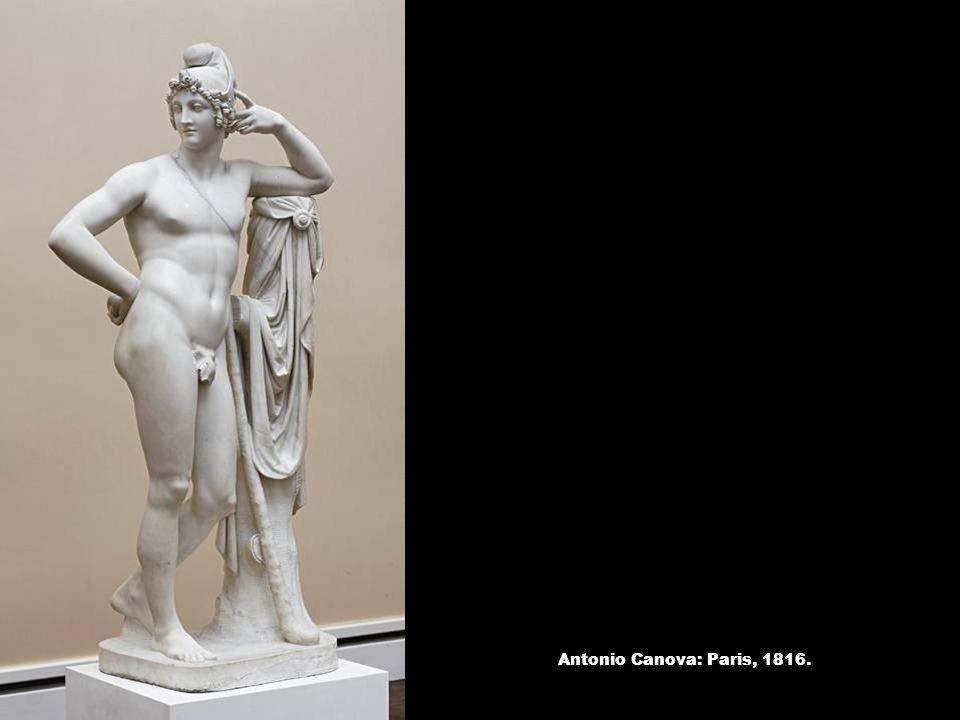 Antonio Canova: Paris, 1816.