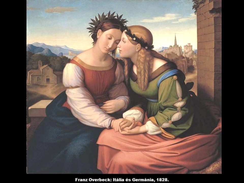 Franz Overbeck: Itália és Germánia, 1828.