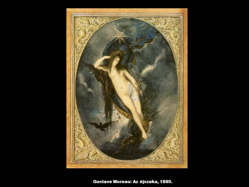 Gustave Moreau: Az éjszaka, 1880.