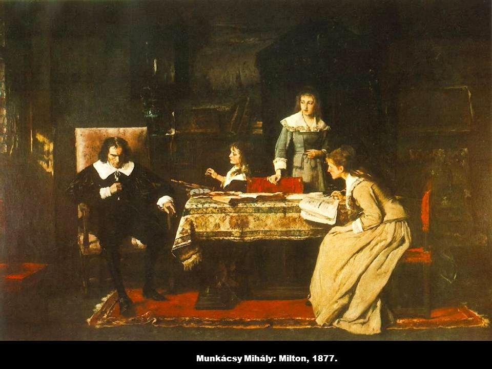 Munkácsy Mihály: Milton, 1877.