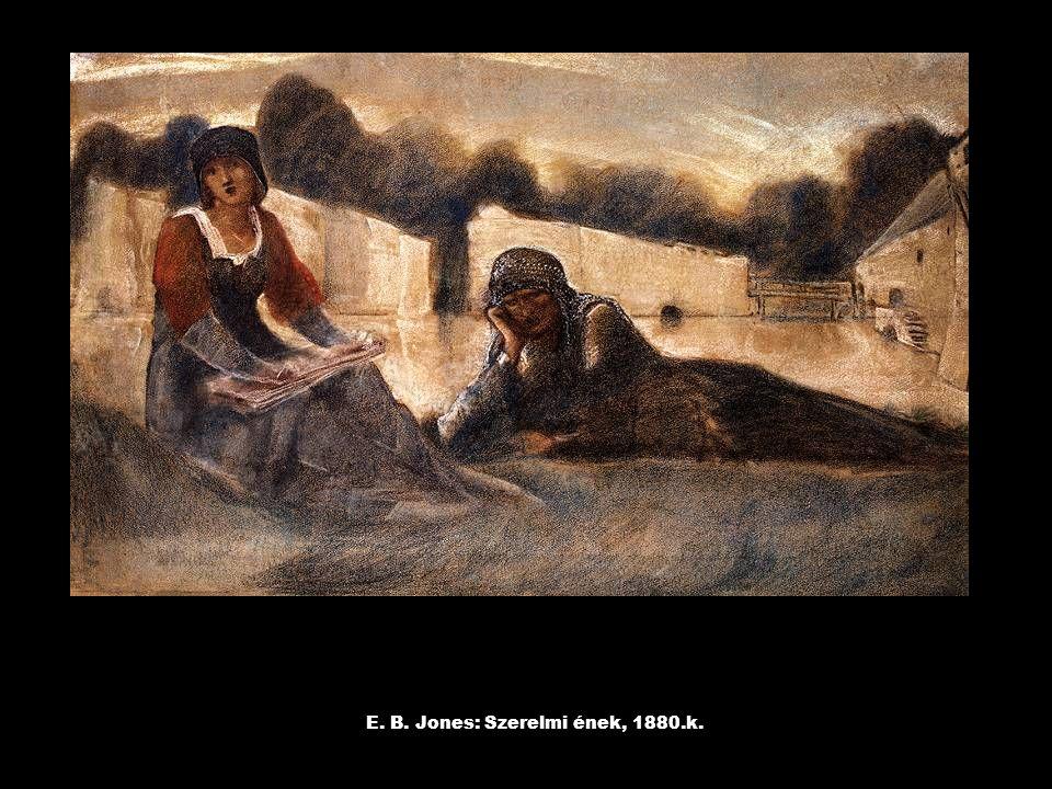E. B. Jones: Szerelmi ének, 1880.k.