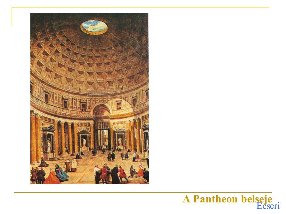 A Pantheon belseje