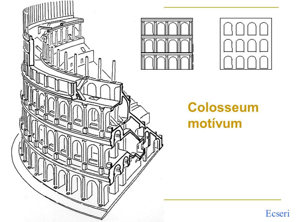 Colosseum motívum