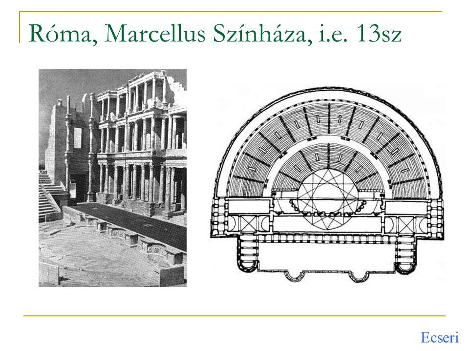 Róma, Marcellus Színháza, i.e. 13sz