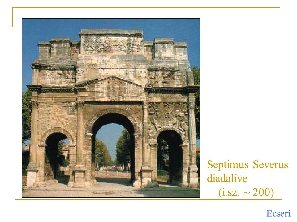 Septimus Severus diadalíve (i.sz. ~ 200)