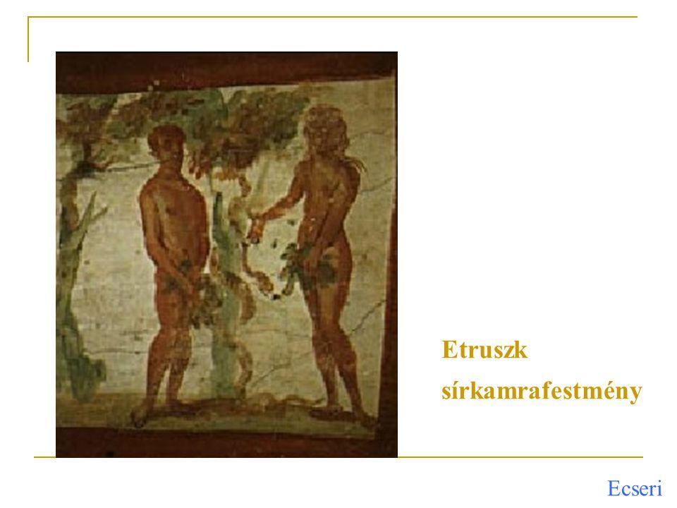 Etruszk sírkamrafestmény