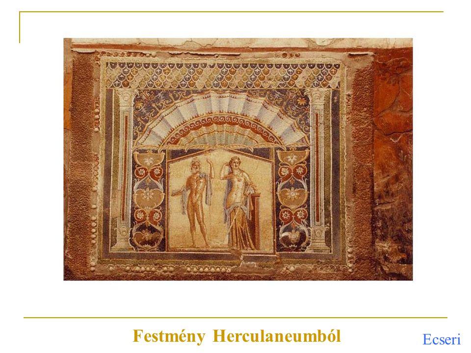 Festmény Herculaneumból