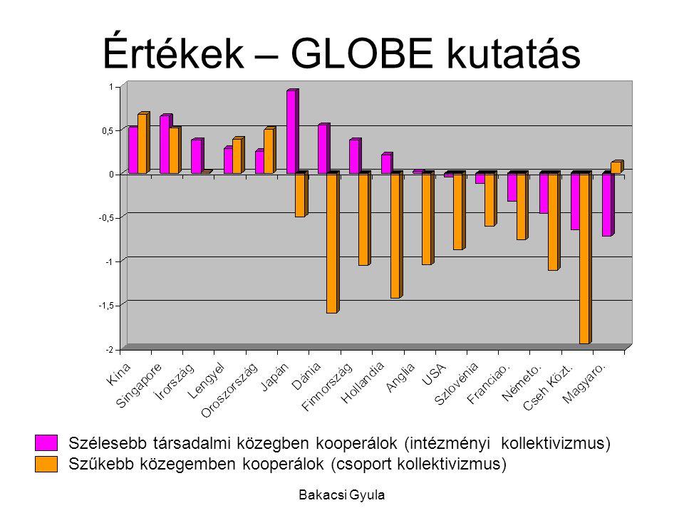 Értékek – GLOBE kutatás