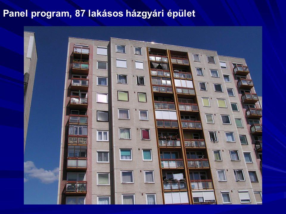 Panel program, 87 lakásos házgyári épület