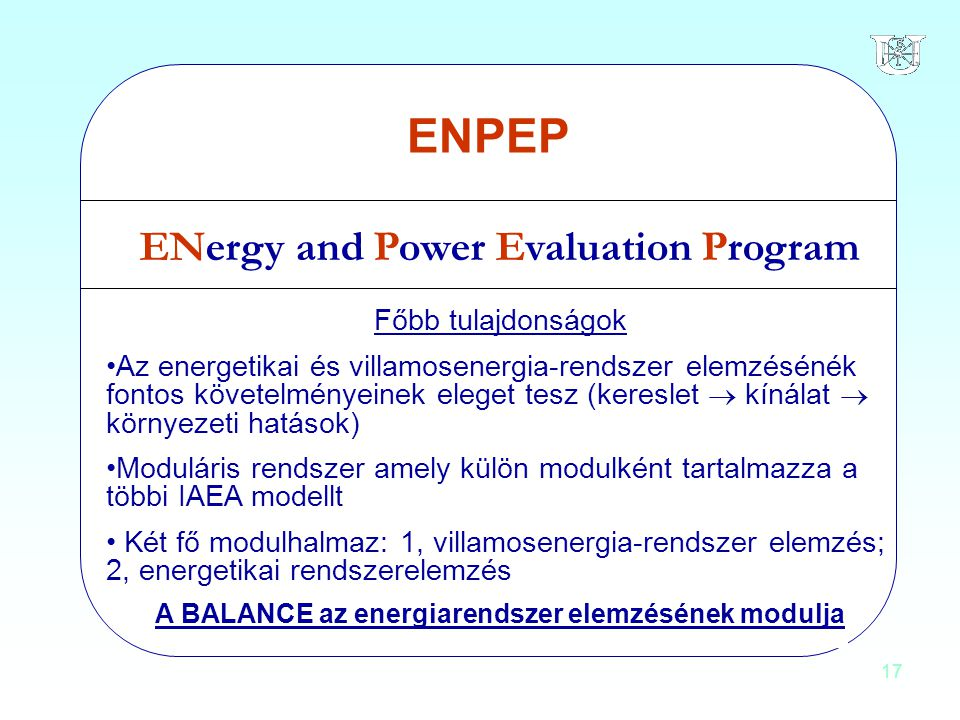 ENergy and Power Evaluation Program