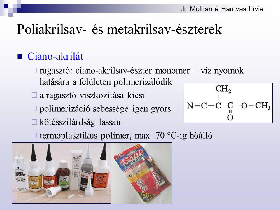 Poliakrilsav- és metakrilsav-észterek