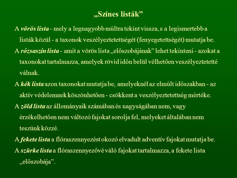 """""""Színes listák"""