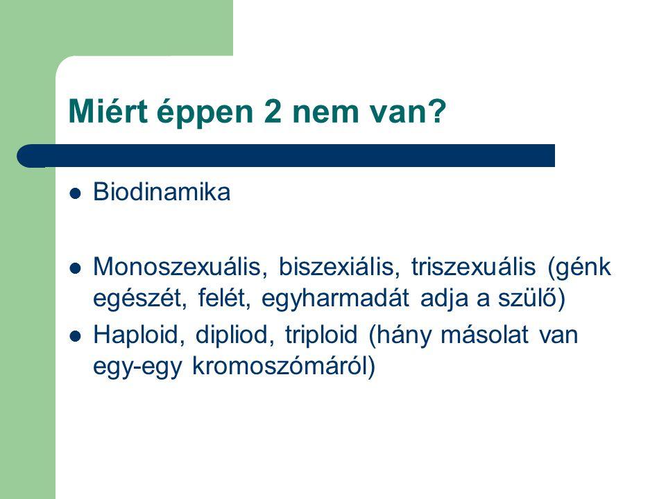 Miért éppen 2 nem van Biodinamika
