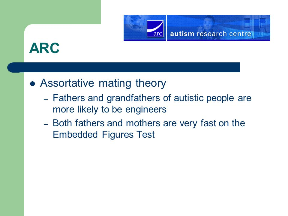 ARC Assortative mating theory