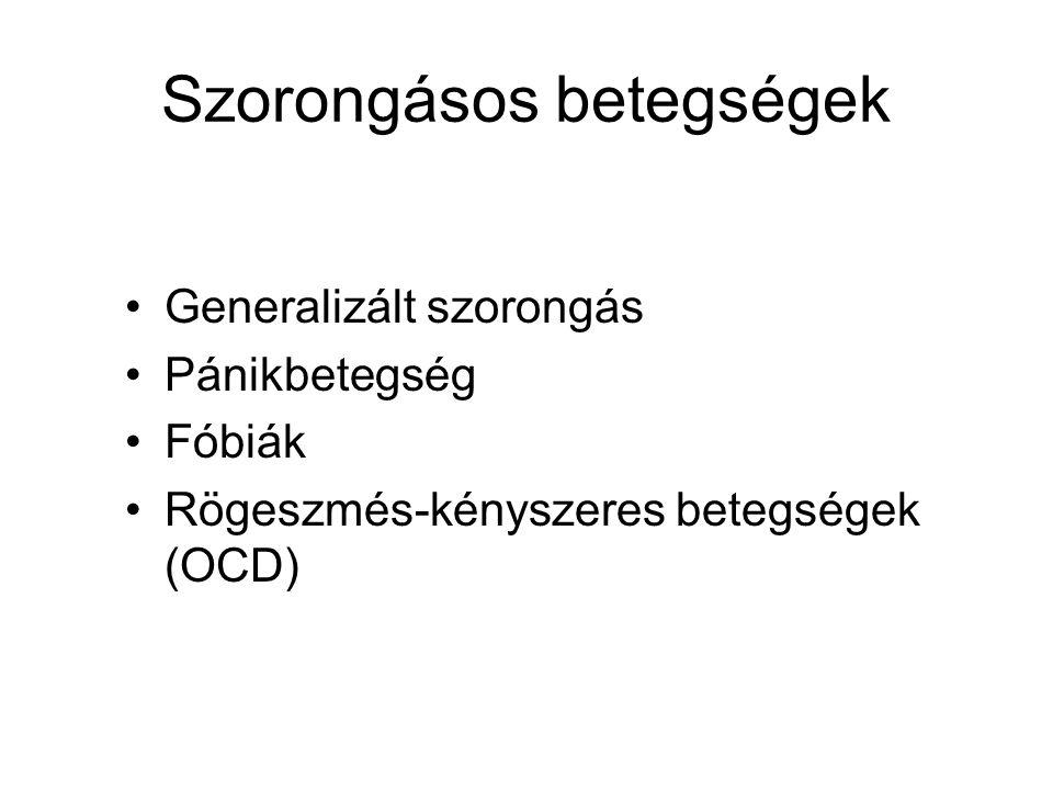 Szorongásos betegségek